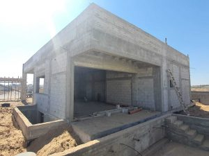 Skeleton for the house in Ofakim - (8)